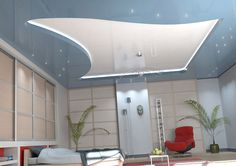 false ceiling designs small room - Google Search