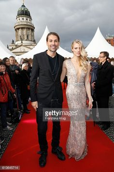 News Photo : David Garrett and Larissa Marolt attend the ECHO...