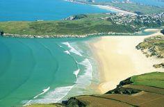 Crantock Beach - near Newquay - 3 generations of holidaying