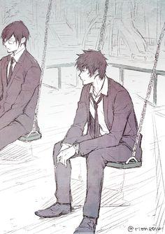 Постійне посилання на вбудоване зображення Ginoza Nobuchika, Makishima Shogo, Anime Manga, Anime Guys, Anime Art, Psycho Pass, Durarara, Fangirl, Illustration