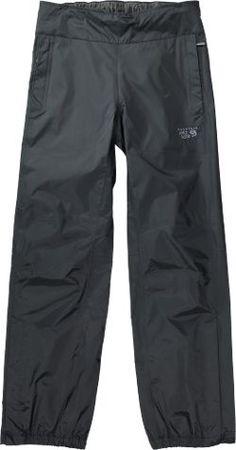 Mountain Hardwear Women's Plasmic Ion Rain Pants Black XL