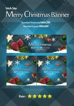 Merry Christmas Banner Web Blue Template PSD | Buy and Download: http://graphicriver.net/item/merry-christmas-banner-web-blue/6425366?WT.ac=category_thumb&WT.z_author=EM2Pac&ref=ksioks
