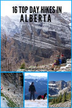 Hiking in Alberta: 16 of the Must-Do Day Hikes - Hike Bike Travel Oh The Places You'll Go, Places To Travel, Travel Destinations, Places To Visit, Travel Diys, Waterton Lakes National Park, National Parks, Alberta Travel, Discover Canada