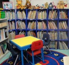 Benefit of interest areas in the classroom