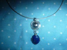 Lapis Lazuli met zilver - eigen ontwerp