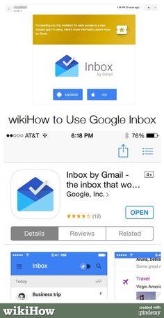 wikiHow to Use Google Inbox #technology #google #apps #inbox #googleinbox #gmail