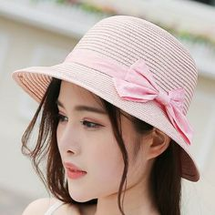 Womens straw beach hats for summer sun hats UV package