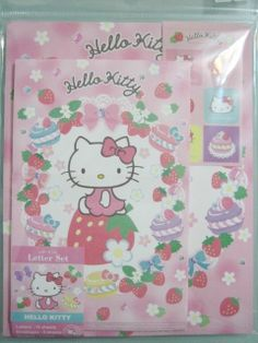 Sanrio 2013 JAPAN Hello Kitty Letter Set Stationery ~ NEW