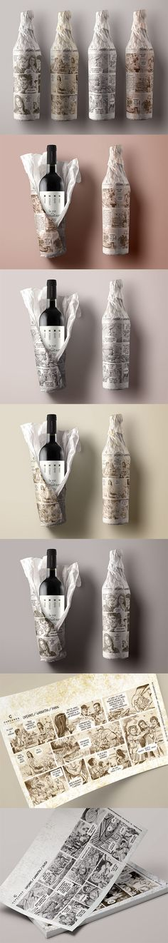 Packaging design for the Nit de les Garnatxes event Celler de Capçanes Argila • Arcilla • Clay • Lehm Calissa • Caliza • Slate • Kalk Panal • Arenisca • Sand • Mergel Llicorella • Pizarra • Limestone • Schiefer