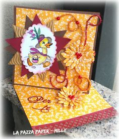Le Tre Pazze PAPERine: TWISTED EASEL CARD