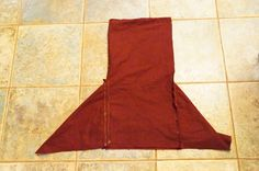 "Viking hood: two 12"" squares, two 12""x24"" rectangles"