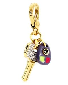 Couture Car Key Charm