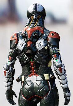 Pest Extermination Corps -弐- CG create to 3D print, Syu-ichi Kawata on…