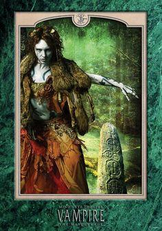 Lhiannon - Green Marble by bynightstudios
