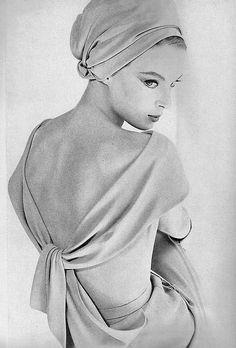 July Vogue 1962, Nina von Schlebrügge (Uma Thurman's mother)
