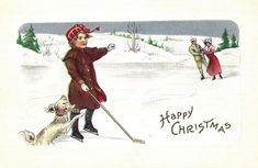 Vintage Christmas Postcards | Flickr - Photo Sharing!