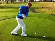 The Correct Hip Movement In The Golf Swing - YouTube