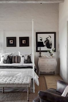 Dullstroom house guest bedroom