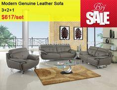Look what I found Via Alibaba.com App: - Living Room Genuine Leather 3 2 1 Sofa Set Furniture