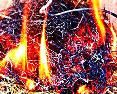 Fire is dangerous