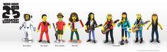 NECA - The Simpsons 25th Anniversary - Celebrities Wave 4