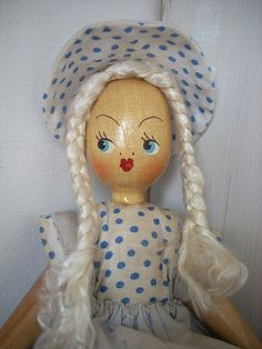 As pretty as a doll by Raggedroses, via Flickr