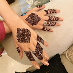 Likes, 16 Comments - Henna by MK Simple Mehndi Designs Fingers, Circle Mehndi Designs, Pretty Henna Designs, Latest Henna Designs, Finger Henna Designs, Back Hand Mehndi Designs, Mehndi Designs Book, Mehndi Designs For Girls, Mehndi Designs For Beginners
