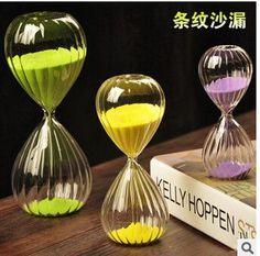 Hot sale 1pcs Pumpkin Hourglass Timer 30 Minutes Hourglass/Glass Timer Art Decorative Sand Hourglass Clock Novelty Gift