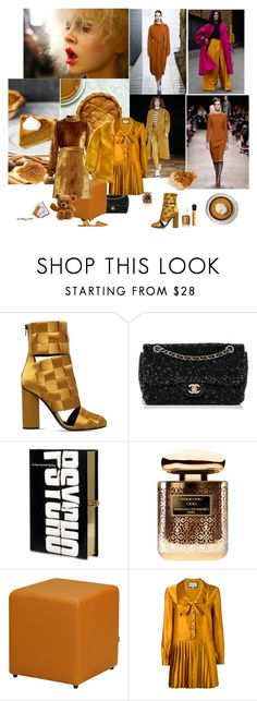 """Pumpkin & Spice"" by katelyn999 ❤ liked on Polyvore featuring Mercedes-Benz, Marco de Vincenzo, Chanel, Olympia Le-Tan, Terry de Gunzburg, Whyred, Christian Louboutin, Rochas and Gucci"