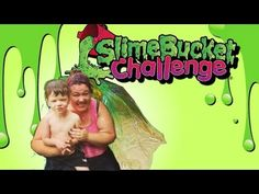 The Slime Bucket Challenge! Slime, Bucket, Challenges, Youtube, Buckets, Aquarius, Youtube Movies