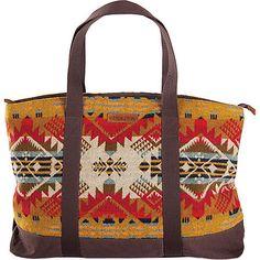 Pendleton Ultimate Tote - Tan Journey West Fabric Handbag NEW #Pendleton