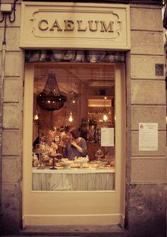 Caelum Café |  Carrer Palla 8, Barcelona  This shop specialises in food and drink made in convents and monasteries.