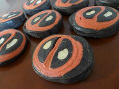 Put the Merc with a Mouth in your Mouth with these Deadpool sweet rolls from Kitchen Overlord.
