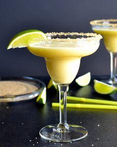 Frozen Pineapple Margarita - Taste Love and Nourish
