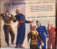 A Short History of Ski Clothing | The Vintage Traveler