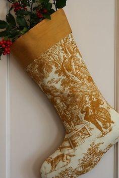 Pretty stocking via Inspiration Lane