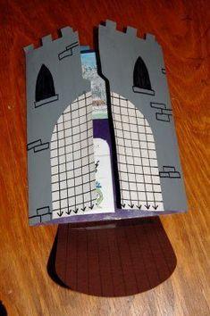 Schootboek over kastelen