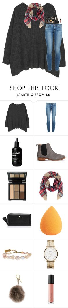 """""""Comment something nice for me to wake up to!!❤️"""" by southern-belle606 ❤ liked on Polyvore featuring MANGO, Paige Denim, Office, e.l.f., Armitage Avenue, Kate Spade, Lena Skadegard, Marc by Marc Jacobs, Fendi and Bare Escentuals"""