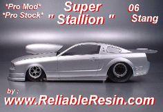 New RESIN '06 Mustang Pro Mod / Pro Stock body - Scale Auto Magazine ... cs.scaleautomag.com