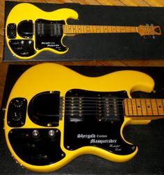 Shergold Custom Masquerader with extra pickup for stereo - 1970s