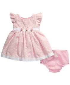 Sweet Heart Rose Eyelet Dress, Baby Girls (0-24 months) $19.99 Delicate eyelet details Sweet Heart Rose's charming flutter-sleeve dress, making it a sweet choice for pictures and picnics alike.