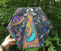 Behind The Scenes By trippydraws Alien Drawings, Trippy Drawings, Dark Art Drawings, Alien Painting, Trippy Painting, Simple Canvas Paintings, Cool Paintings, Acid Art, Mini Canvas Art