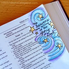 Ink Blots by TRD: Adventures in Bible art & journaling :: Week 6