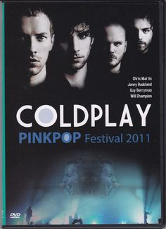 COLDPLAY Pinkpop Festival 2011 DVD NEW NTSC PAL Region All Free Shipping