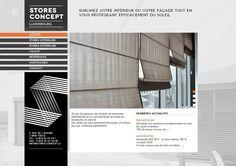 Stores Concept Luxembourg - projet développé en Symfony  Responsive design  http://www.stores-concept.lu/
