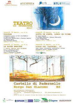 Teatro di Primavera al Castello di Padernello http://www.panesalamina.com/2017/54118-teatro-di-primavera-al-castello-di-padernello.html