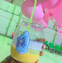 Baby Shower drink ideas.  #babyparty #beverages #babyshower