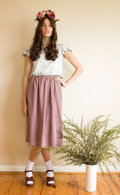 Frances Baker Shop Skirt #madelocalinaus