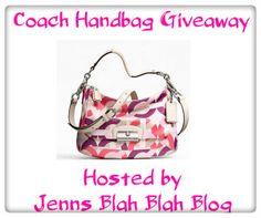 ANOTHER COACH GIVEAWAY!! JOIN NOW!! Win a Coach Summer Handbag! Open Worldwide