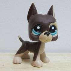 Hasbro Littlest Pet Shop Collection LPS Figure RARE Brown Great Dane Dog Puggy in Toys & Hobbies, Preschool Toys & Pretend Play, Littlest Pet Shop | eBay